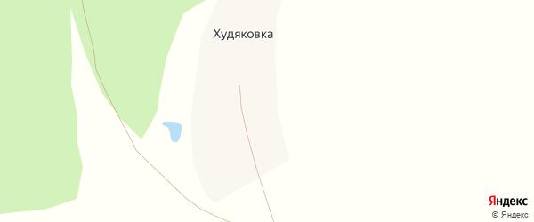 Худяковская улица на карте деревни Худяковки с номерами домов
