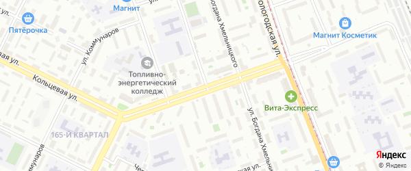 Суворова 1-й проезд на карте Уфы с номерами домов