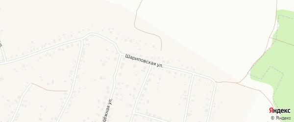 Шариповская улица на карте села Старые Турбаслы с номерами домов