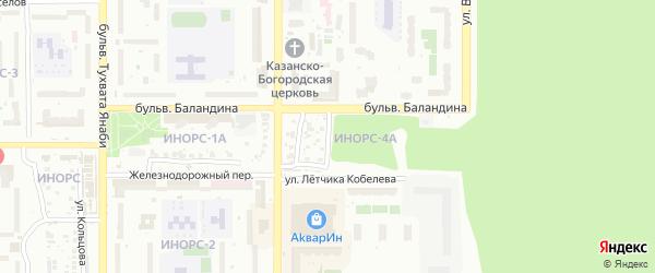 Таджикская улица на карте Уфы с номерами домов