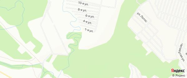 СНТ Черемушки 9 на карте Уфы с номерами домов
