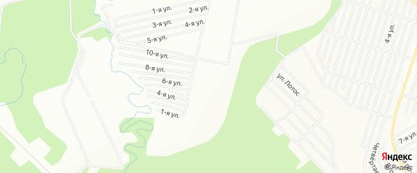 СНТ Ольховое на карте Уфы с номерами домов