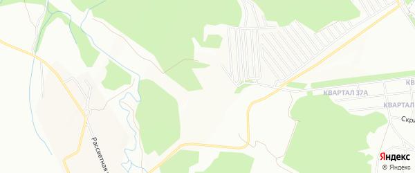СНТ Заречное на карте Уфы с номерами домов
