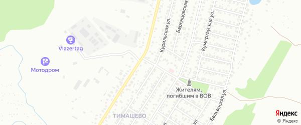 Улица Софьи Ковалевской на карте Уфы с номерами домов