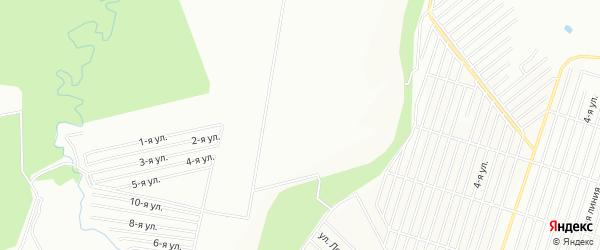 СНТ Вишенка на карте Иглинского района с номерами домов