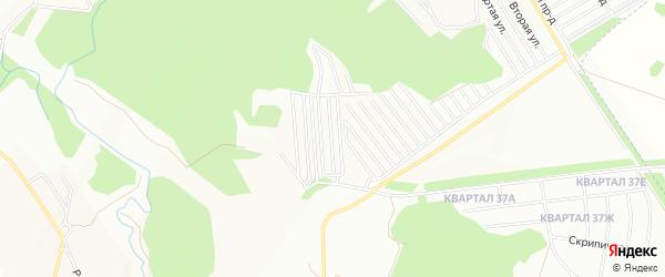 СНТ Механизатор на карте Уфы с номерами домов