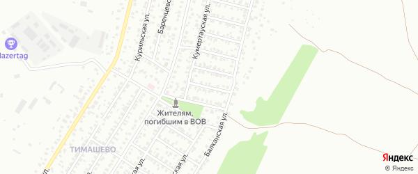 Аму-Дарьинская улица на карте Уфы с номерами домов