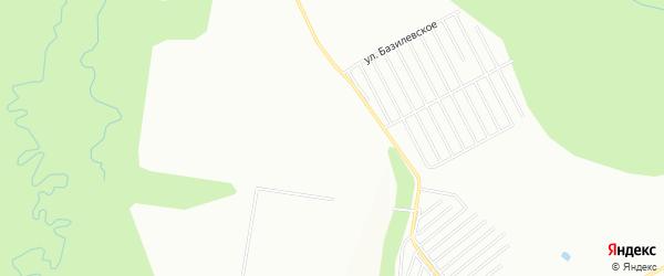 СНТ Дружба-2 на карте Уфы с номерами домов