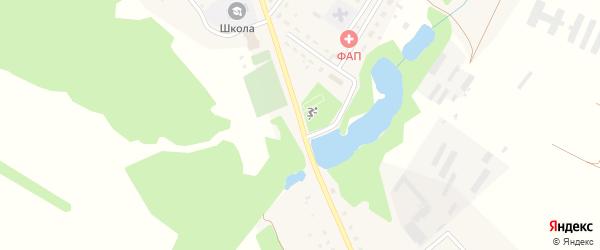 Улица Ленина на карте деревни Константиновки с номерами домов