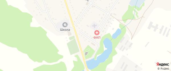 Кооперативная улица на карте деревни Константиновки с номерами домов