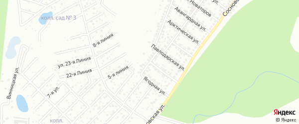 Гипсовая улица на карте Уфы с номерами домов