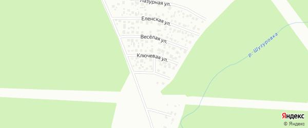 Полюсная улица на карте Уфы с номерами домов