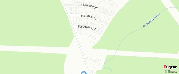 Сухаревская улица на карте Уфы с номерами домов