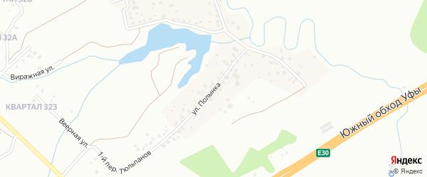 Улица Полынка на карте деревни Самохваловки с номерами домов