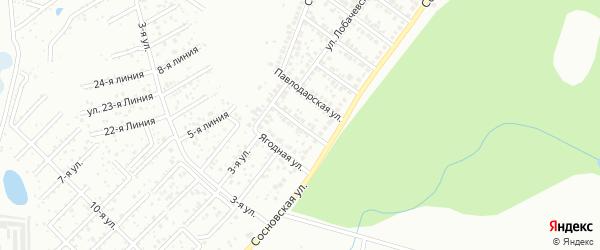 Перекопская улица на карте Уфы с номерами домов