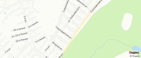 Кишиневская улица на карте Уфы с номерами домов