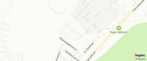 Улица Сергея Чекмарева на карте Уфы с номерами домов