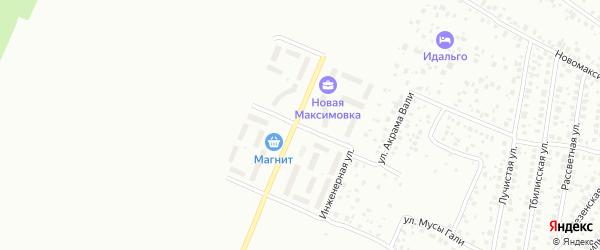 Юшатырская улица на карте Уфы с номерами домов