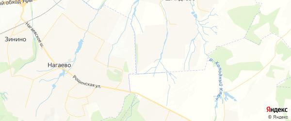 Карта Нагаевского сельсовета республики Башкортостан с районами, улицами и номерами домов