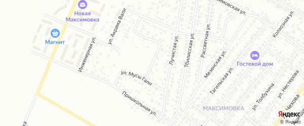 Мраморный переулок на карте Уфы с номерами домов