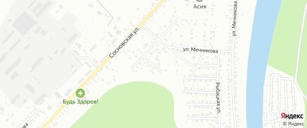 Улица Охотников на карте Уфы с номерами домов