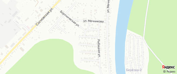 Видный переулок на карте Уфы с номерами домов