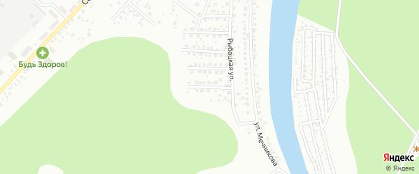 Уютный переулок на карте Уфы с номерами домов