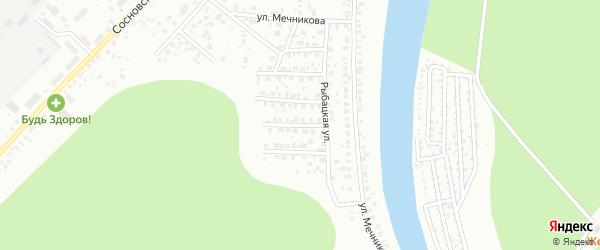 Дивный переулок на карте Уфы с номерами домов