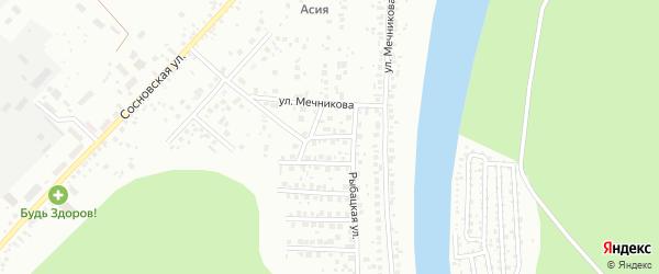 Ладный переулок на карте Уфы с номерами домов