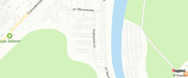Рыбацкая улица на карте Уфы с номерами домов