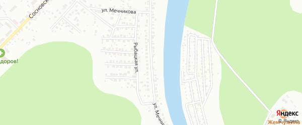 Улица Мечникова на карте Уфы с номерами домов