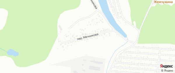 Переулок Мечникова на карте Уфы с номерами домов