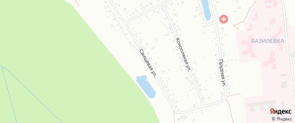 Свищевая улица на карте Уфы с номерами домов