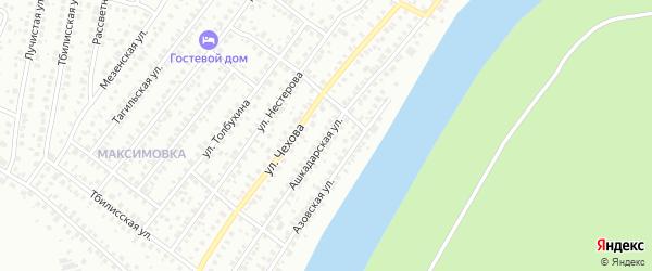 Ашкадарская улица на карте Уфы с номерами домов