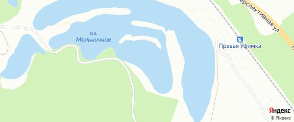Местечко Мельничное Озеро (строение) на карте Уфы с номерами домов