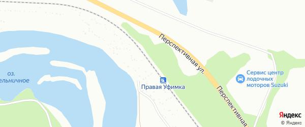 Железнодорожная остановка Правая Уфимка на карте Уфы с номерами домов