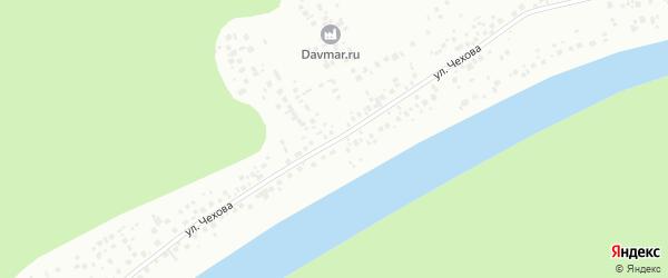 Улица Чехова на карте Уфы с номерами домов