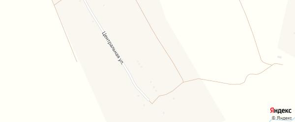 Придорожная улица на карте села Ивановки с номерами домов