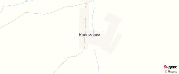 Улица Ленина на карте деревни Кальмовки с номерами домов