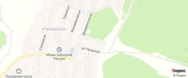 Насыпной переулок на карте деревни Шамонино с номерами домов