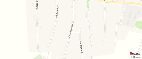 Октябрьская улица на карте села Старые Казанчи с номерами домов