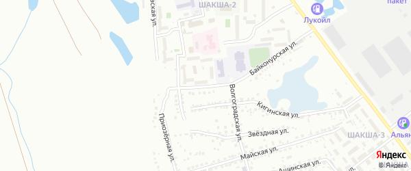 Стадионная улица на карте Уфы с номерами домов