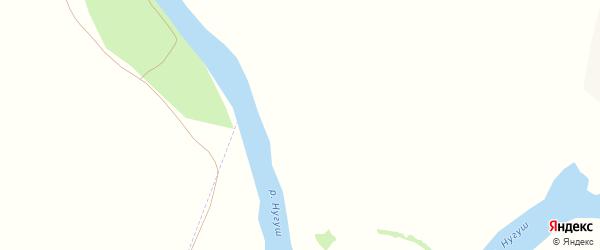 Улица Дружбы на карте деревни Береговки с номерами домов