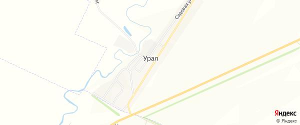 Карта деревни Урала в Башкортостане с улицами и номерами домов