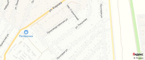 Улица им Пикунова на карте деревни Князево с номерами домов