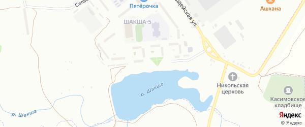 Касимовская улица на карте Уфы с номерами домов