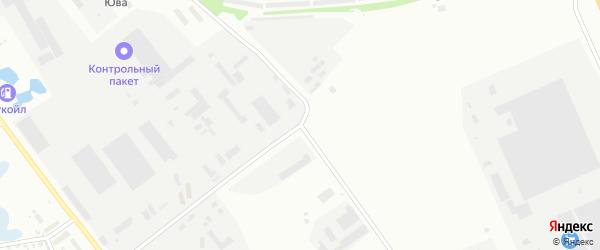 Производственная улица на карте Уфы с номерами домов
