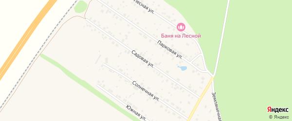 Садовая улица на карте села Русского Юрмаша с номерами домов