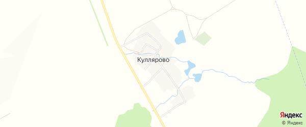 Карта деревни Куллярово в Башкортостане с улицами и номерами домов