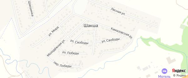 Улица Мусы Гареева на карте Уфы с номерами домов